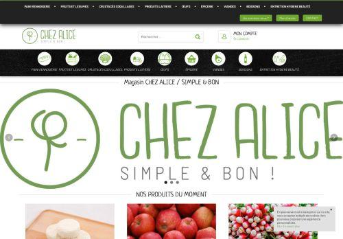 www.magasinchezalice.fr