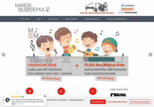 www.marios-musikschule.de