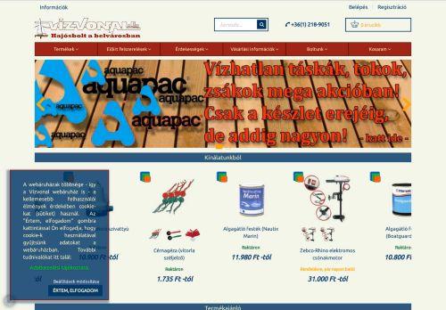 www.vizvonal.hu